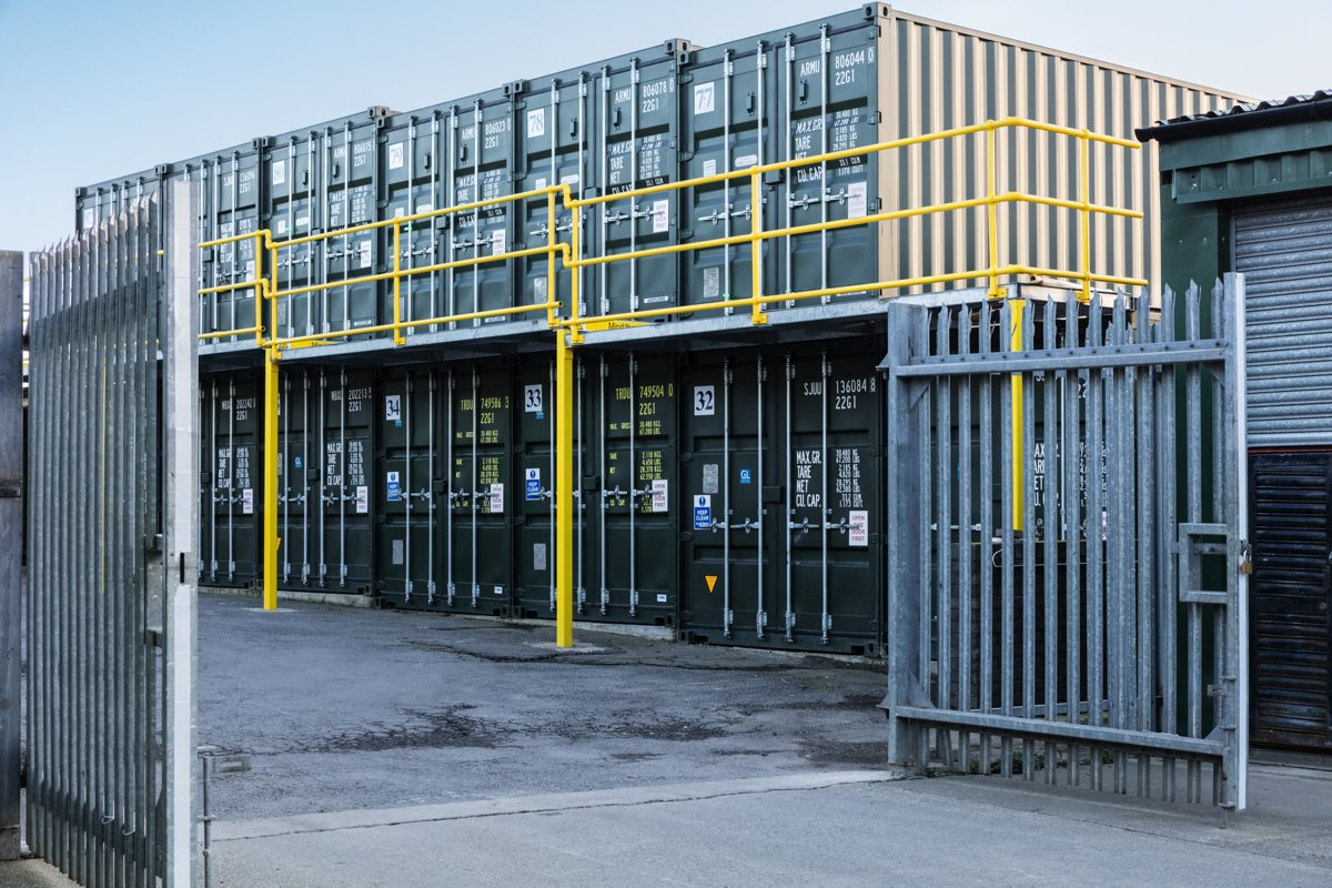 Container Storage Barry Atlantic Secure Self Storage Barry
